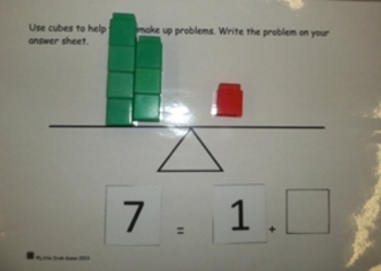 Addition and Subtraction using Frames.