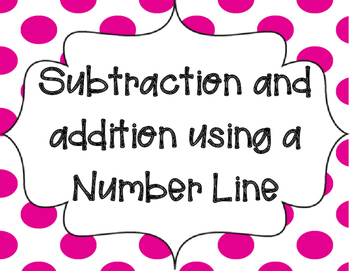 Addition and Subtraction using a Number Line
