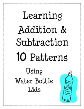 Addition and Subtraction with 10 Patterns, Multiples of 10, Math Center