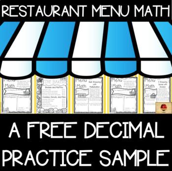 Decimals Practice Free Samples Set