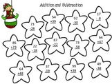 Addition and Subtraction with Regrouping - Christmas