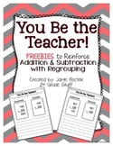 Addition and Subtraction with Regrouping FREEBIE