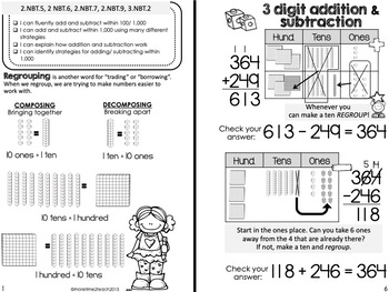 Addition and Subtraction with Regrouping Theme Booklet {Mastering Regrouping}