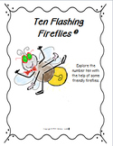 "Addition and Subtraction with ""Ten Flashing Fireflies"""