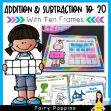 Ten Frames Addition & Subtraction