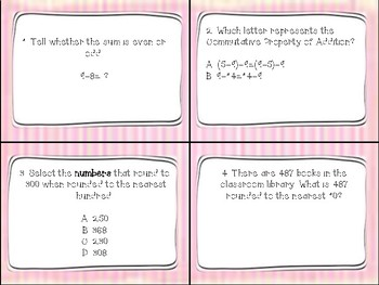 Go Math Chapter 1- Addition and Subtraction within 1,000 Game