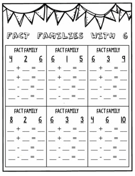 Addition and Subtraction within 10: Fact Fluency Pack