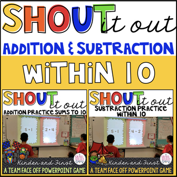 Addition and Subtraction within 10 BUNDLE