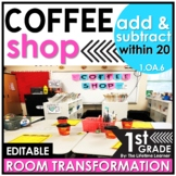 Addition and Subtraction within 20   1st Grade Coffee Room