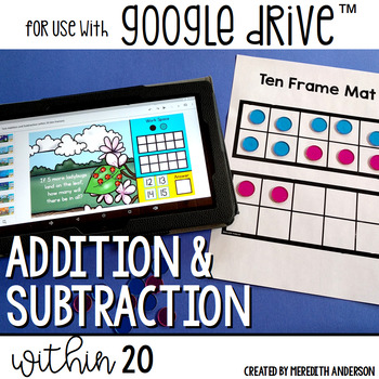 Addition and Subtraction within 20 - Digital Classroom Resource