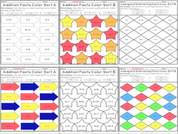 Addition and Subtraction within 20 Growing Activity Bundle (CC Aligned)