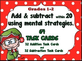Addition and Subtraction within 20 - Finding the Unknown - December