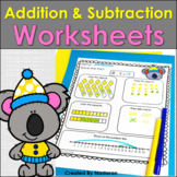 Addition and Subtraction worksheets Within 20