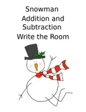 Addition and Subtraction write the room
