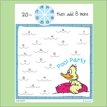 Addition and Subtraction Fact Fluency for June and July