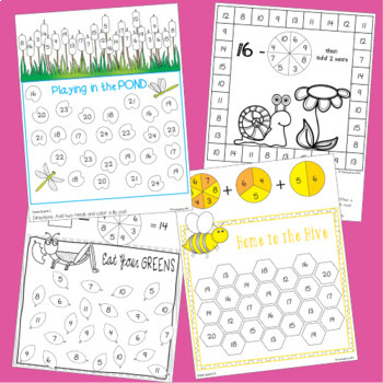 Addition and Subtraction Games for May