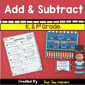 Addition and Sutraction Center Activities and Worksheets