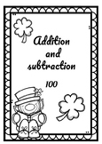 Addition and subtraction/ 100 / with regrouping. (Part 2)