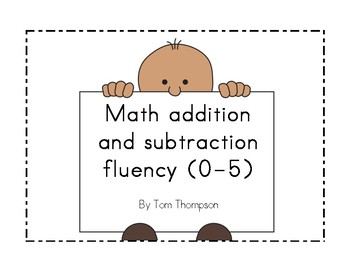 Addition and subtraction fluency within 5