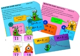 Addition and subtraction game -Hit the Monsters with a flyswatter