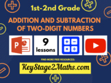 Addition and subtraction of two-digit numbers