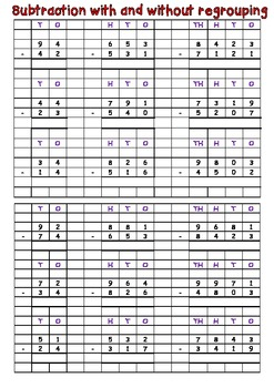 Addition and subtraction test, assessment, quiz