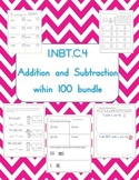 1.NBT.C.4  Addition and subtraction within 100 practice pages