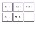 Addition and/or subtraction 0-10 - differentiated gameboar