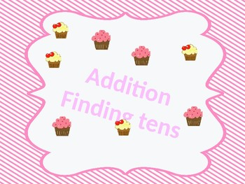 Addition by counting to 10 strategy