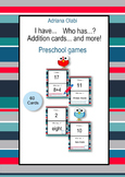 Addition cards. I have... Who has...?