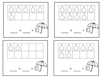 Addition cards make 10