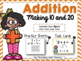 Addition Within 20 {decompose to make 10 and 20]