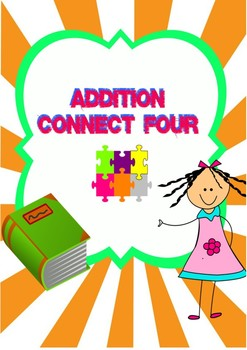 Addition dice game Math center activity