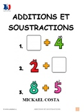 Additions et soustractions, math, French Immersion (#103)