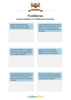 Addition et soustraction 4 - Soustractions sans nombres inutiles dans l'énoncé