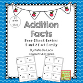 Addition fact families 1 and 2: Cooperative Learning Peer-
