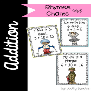 Addition facts rhymes and chants