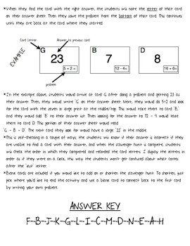 Addition facts to 20: Doubles plus/minus one Scavenger Hunt