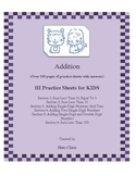 Addition for KIDS (HI Practice Sheets for KIDS)