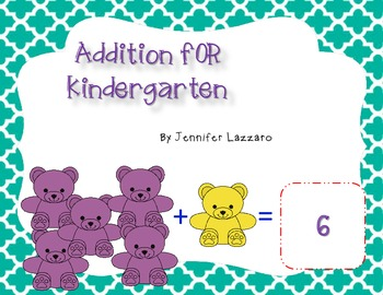Addition for Kindergarten