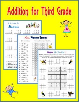 Addition for Third Grade