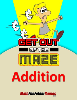 Addition from 1 to 99 Mazes (Fun Addition Worksheets)