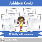 Addition Grids