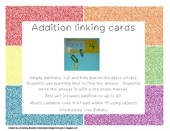 Addition linking cards