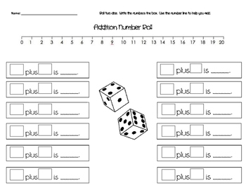 Addition number roll