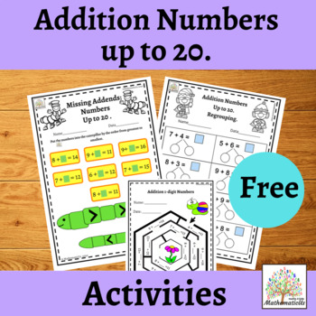 Addition numbers.
