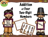 Addition of Four Two-Digit Numbers