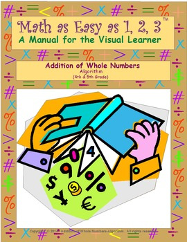 Addition of Whole Numbers-Algorithm (4th & 5th Grade)