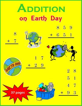 Addition on Earth Day