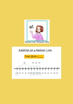 Go Math Lesson 1.4 - Addition on a Number Line